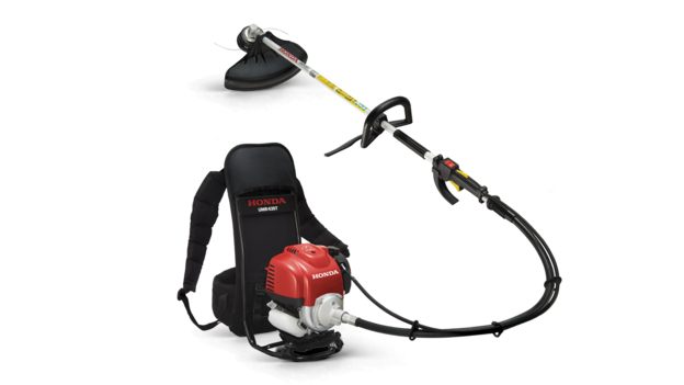 Honda Backpack brushcutter.